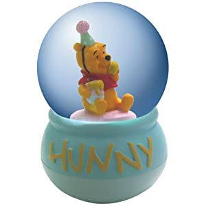 Westland Giftware Winnie The Pooh Hunny Water Globe, 45mm from Westland Giftware - Home Decor