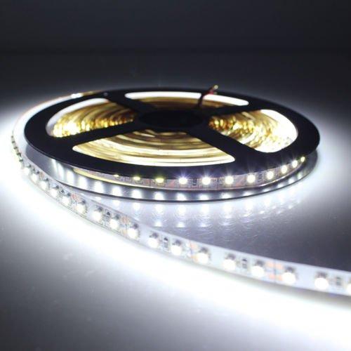 Unihandbag Bright Cool 3528 600Led 5M 120Led/M Light Strip Lamp 12V White Non-Waterproof