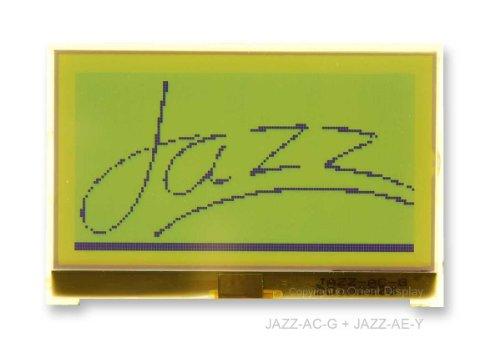 "2.7"" Cog Graphic 128X64 Lcd Module Jazz-Ac-G (Grey)"
