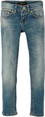 LTB Jeans Mädchen Jeans Pinky, Einfarbig, Gr. 110 (Herstellergröße: 4-5), Blau (Melanie Wash)