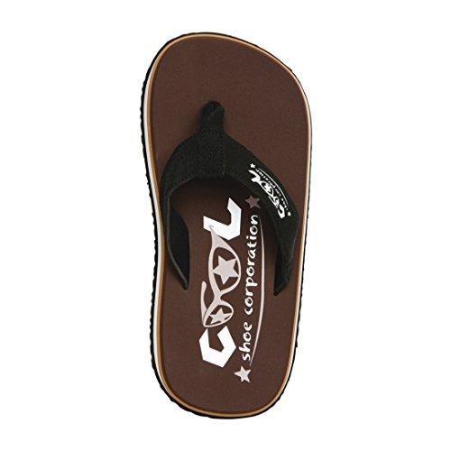 Cool Scarpe Originali Pi Castagno Infradito Sandali Erano Renner Spiaggia Flip Flops Brutta Battuta D'Arresto - Chestnut, scamosciato, 41/42