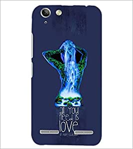 PrintDhaba Quote D-3058 Back Case Cover for LENOVO VIBE K5 PLUS (Multi-Coloured)