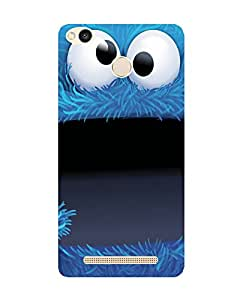 GripIt Cookie Monster Printed Case for Xiaomi Redmi 3S Prime
