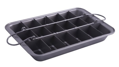 Entemann's ENT49004 Brownie Maker Set. (Divided Brownie Pan compare prices)