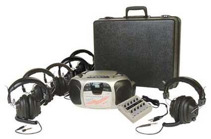 Califone 1776Plc-6 6-Position Spirit Listening Center