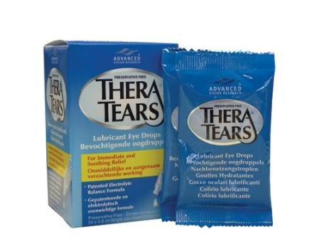 Thera Tears Lubricant Eye Drops, Single-Use Containers 24x0.6ml