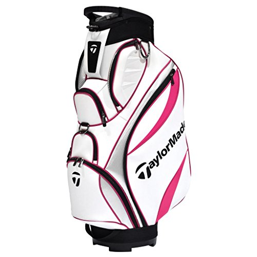 taylormade-ladies-2016-monaco-cart-bag-womens-golf-trolley-bag-14-way-divider-white-red-silver