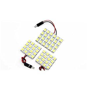 【断トツ168発!!】 CZ4A ランサーエボリューションX(ランエボ) LED ルームランプ 3点セット [H19.10~] ミツビシ 基板タイプ 圧倒的な発光数 3chip SMD LED 仕様 室内灯 カー用品 HJO
