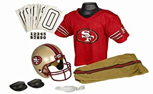 San Francisco 49ers NFL Football Deluxe Uniform Set Size Small by Unknown
