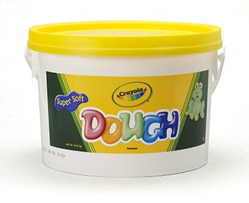 Modeling Dough 3Lb Bucket Yellow -- Case of 3