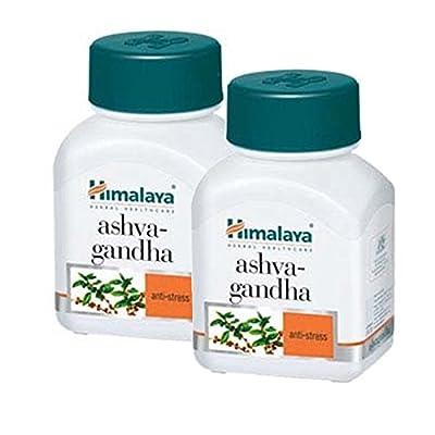 Himalaya Ashwagandha 60 Capsules - Pack of 2