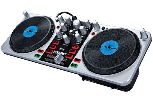 Mixeurs dj gemini firstmix i o table de mixage dj usb - Table de mixage avec carte son integree ...
