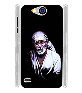 Lord Shirdi Sai Baba Bagwan Soft Silicon Rubberized Back Case Cover for Xolo Prime