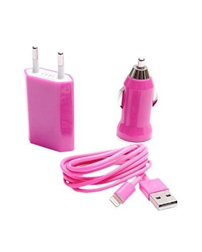 Beja Cable Usb Para iPhone 5/5S Rosa