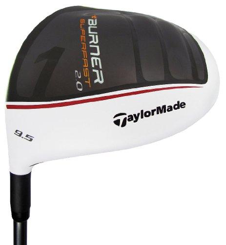 Taylormade Burner Superfast 2.0 Tp Driver - New For 2011 ! 9.5° Regular Flex