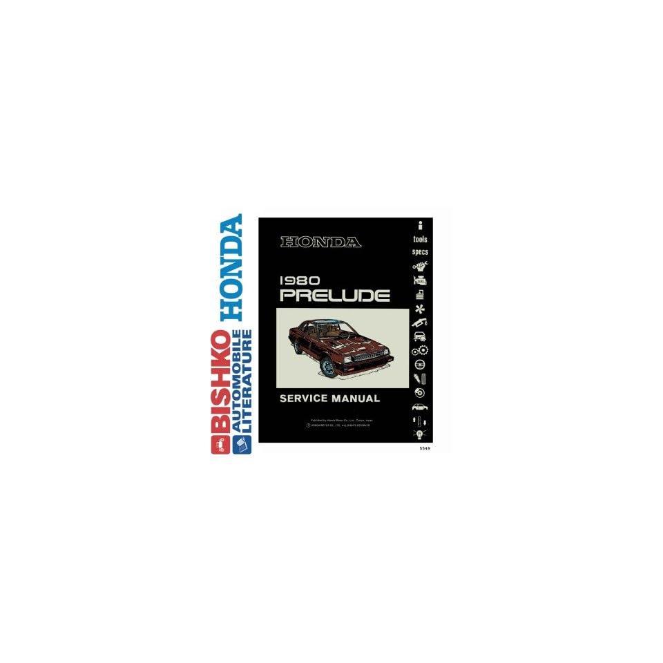 1980 Honda Prelude Shop Service Repair Manual CD Engine Drivetrain Wiring OEM