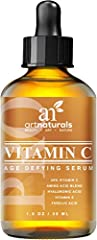 Our all-natural Vitamin C Serum is the most effective, gentle, organically infused vitamin C serum available today. It is blended and refined to reduce signs of aging, eliminate sun spots and damage, and minimize wrinkles, all while restoring youthfu...