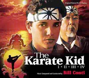 The Karate Kid-Set (4-CD-Set) Varese-Club-Series [Soundtrack] [Audio CD] [Import-CD] [limited]