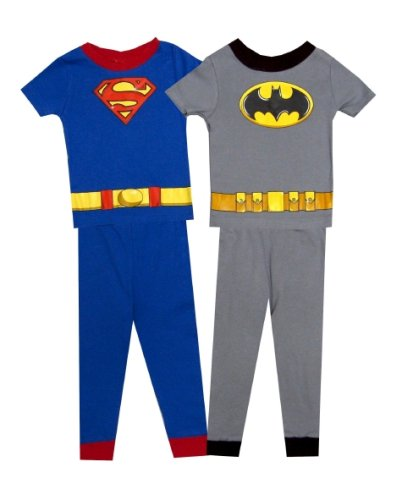 Buy Superman – Batman Superhero Combo Pajamas for boys