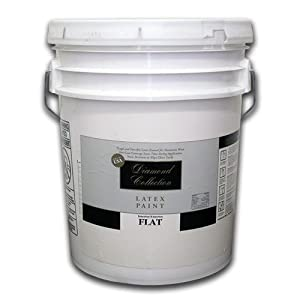 White Flat Acrylic Latex House Paint