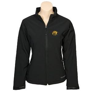 Arkansas Pine Bluff Ladies Black Softshell Jacket