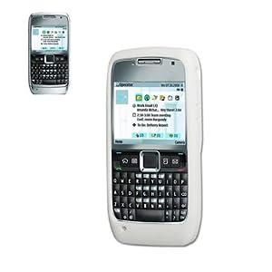 Reiko SLC002-NKE71WH Silicone Protector Skin cover case Nokia E71 - E71 - White