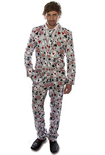 High Roller Poker Designer Stag Suit (Men: XX-Large)