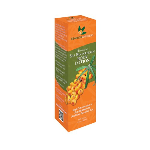Seabuck Wonders Body Lotion Himalayan Sea Buckthorn 6 FZ (Pack of 6)