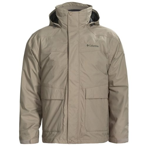 Columbia Supersize Franklin Cliff Interchange Mens Jacket - Tusk, X-Large