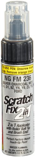 Dupli-Color NGFM236 Silver Charcoal Metallic Ford Exact-Match Touch-up Paint - 0.5 oz. (Car Touch Up Paint Charcoal compare prices)