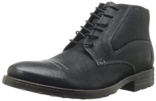 Clarks Men's Denton Top Boot,Black Leather,13 M US