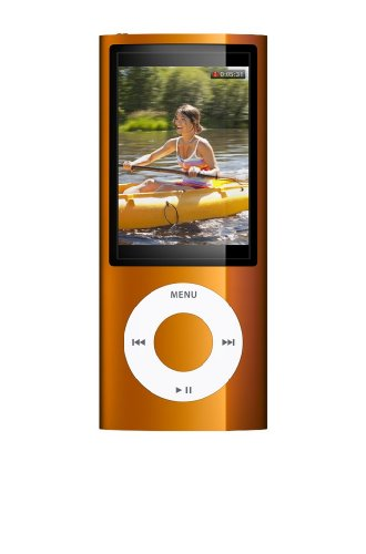 Apple iPod nano 8 GB Orange (5th Generation) OLD MODEL