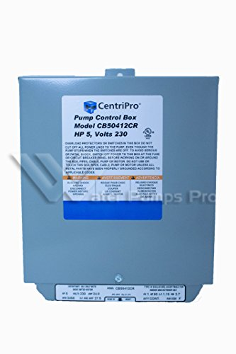 Cb50412Cr Centripro Submersible Pump Control Box 5 Hp 230 V Goulds