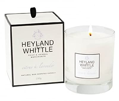 Heyland Whittle Soy Boxed Scented Candle - Citrus Lavender from Heyland & Whittle @ Casa Candles