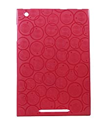 Stylabs Tablet Back Case Cover For Micromax Canvas Breeze Tab P660 - Red Cover.