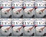 アヲハタ 白がゆ 250g x 8袋(1ケース) 温めるだけですぐ食べられる。レトルトパウチ入り!化学調味料を使用しておりません!!