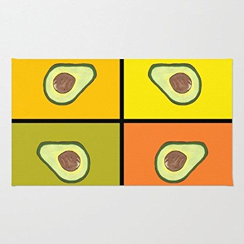 poppylife-avocado-art-area-rug-bathroom-kitchen-soft-coral-fleece-blue-door-mats-16-x-24