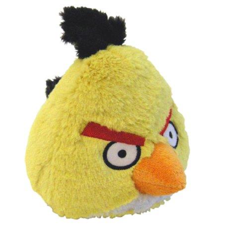 Imagen de Angry Birds de peluche de 5 pulgadas con Yellow Bird Sound
