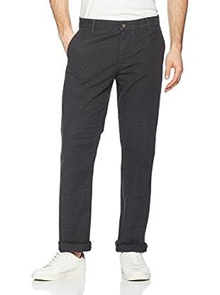 Dockers Pantalón Alpha Slim Twill (Gris Oscuro / Gris)