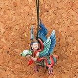 カプセルQミュージアム 竹谷工房謹製 神獣根付 第壱集 迦陵頻伽(フル彩色)