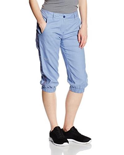 Salewa Pantalón de Chándal Frea Co/Hemp W 3/4 Azul Claro
