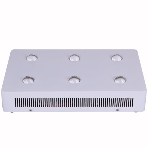 Galaxyhydro(Tm) 600W(6×100W) Led Grow Light With Cob Optical Lens For Plant Growing And Flowering