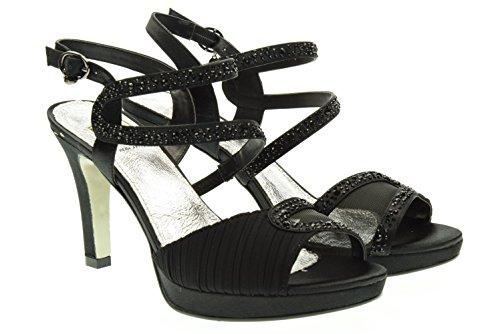 O6 MILANO donna sandali SA0335 NERO 41 Nero