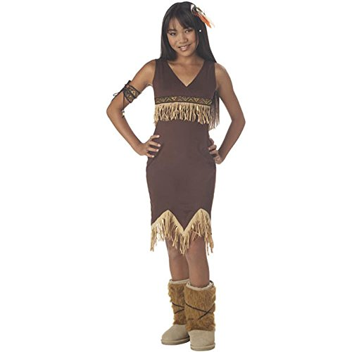 Girl's Indian Princess Tween Halloween Costume XL