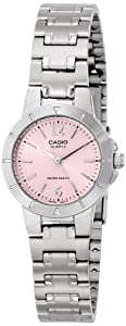 Casio Women's LTP-1177A-4A1 Dress Analog Display Quartz Silver Watch