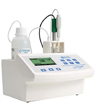 Hanna Instruments HI 84432 Titratable Acidity Mini Titrator and pH Meter, For Fruit Juice