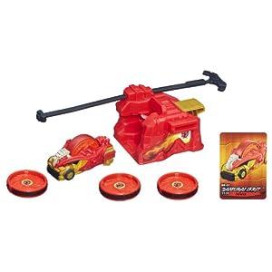 Amazon.com: Beyblade BeyRaiderz Starter Pack Samurai Ifrit: Toys