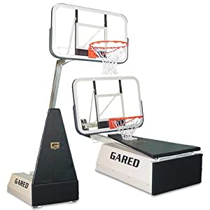 Gared Micro-Z Portable Basketball System - Basketball by Gared