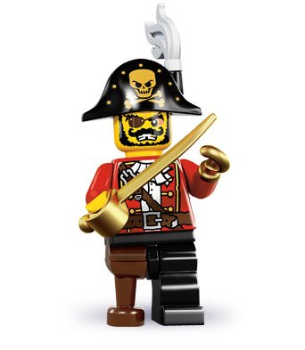 LEGO Minifigures Series 8 - Pirate Captain Amazon.com