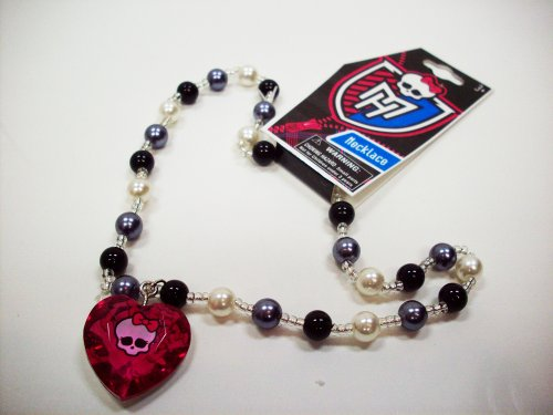 Monster High Pearl Necklace with Heart Charm - Assorted Styles